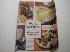 Bordens Eagle Brand Magic Recipes 1937 Cookbook Vintage Cook Book Desserts and More by aroundtheclock on Etsy