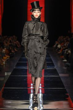 I think we should bring to hats back! Gaultier 2012.