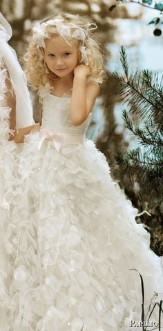 beautiful little flower girl dresses