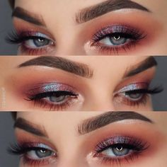 """10.3k Likes, 40 Comments - NABLA Cosmetics (@nablacosmetics) on Instagram: """"The way Alchemy and Water Dream eyeshadows enlighten this eye look by the beautiful @ohhmels is so…"""""""