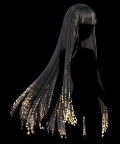Hair Reference, Art Reference Poses, Jojos Bizarre Adventure Jotaro, Kawaii Wigs, Drawing Hair Tutorial, Pelo Anime, Manga Hair, Drawing Tutorials For Kids, Beauty Games