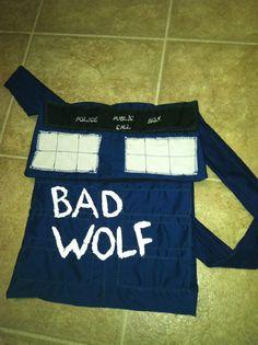 Bad Wolf TARDIS purse bag by NerdvanaMama on Etsy, $20.00