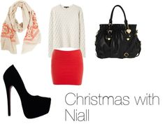 """""""Christmas with Niall"""" by madidirectioner on Polyvore"""