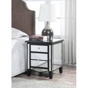 Convenience Concepts Gold Coast Park Lane Mirrored End Table, Multiple Colors