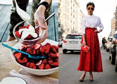 When Food meets Fashion