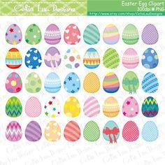 Easter Egg Clipart Easter clip art by CeliaLauDesigns Easter Art, Easter Crafts, Easter Eggs, Easter Ideas, Diy Crafts For Kids Easy, Egg Carton Crafts, Clip Art, Easter Printables, Pastel
