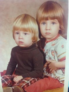 Dale & Kelley as kids