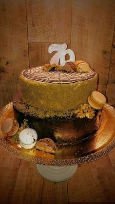 Mans cake chocolate