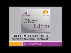 Saltillo Corp-  Explore Chat Editor: Saltillo's Companion Software - YouTube