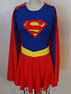 Custom Supergirl Costume by CapesnCowlsAnonymous (Etsy) - awesome