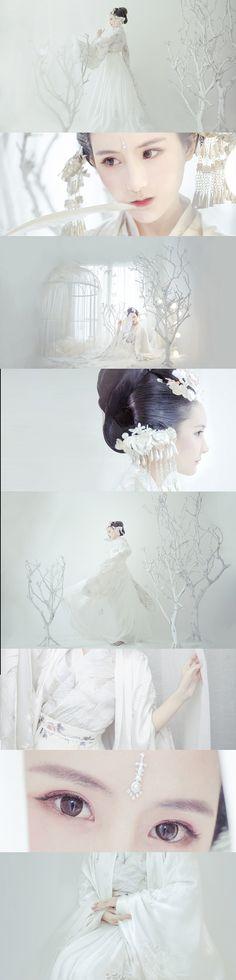 Oriental Dress, Oriental Fashion, Asian Fashion, Geisha, Ancient China Clothing, Ancient Beauty, Beautiful Fantasy Art, China Girl, Chinese Clothing