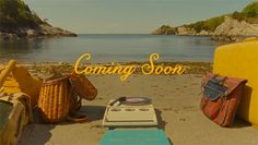 Film still from Wes Anderson's Moonrise Kingdom. Title design by Jessica Hische.