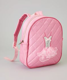 Love this Light Pink Dress Backpack on #zulily! #zulilyfinds