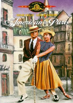 An American in Paris  Gene Kelly and Leslie Caron