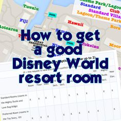 WDW Prep School • How to get the Disney World resort room you want