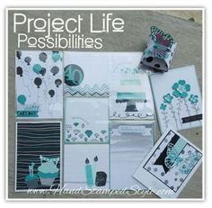 Hand Stamped Style Project Life by Stampin Up!