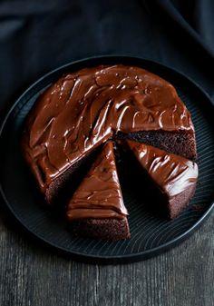 Cozinhando com amigos: Bolo de chocolate sem farinha de trigo