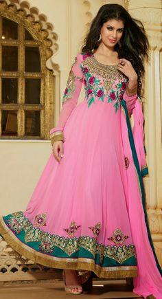 Lush Deep Pink Salwar Kameez