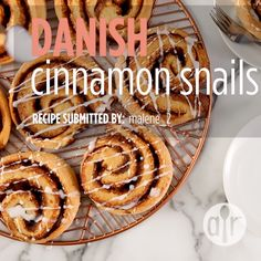The cardamom-spiced dough makes these Danish cinnamon rolls stand apart from the sweet roll crowd! Frost with a confectioners' sugar glaze, if desired. Best Cinnamon Roll Recipe, Confectioners Sugar Glaze, Cinammon Rolls, Kid Desserts, Homemade Breakfast, Healthy Cake, Easter Recipes, Desert Recipes, Juice