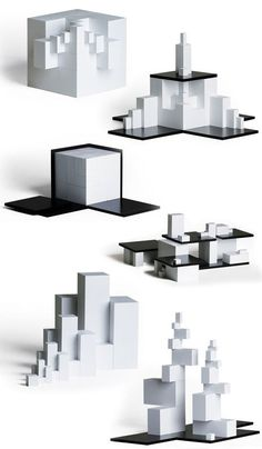 naef | tectus modern architecture construction toy