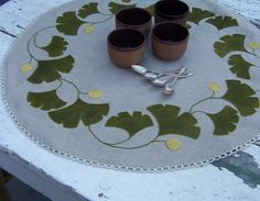 Similar to Table Round on Museum's Octagonal Table: Ginkgo Table Round, $150 (or kit for $80)