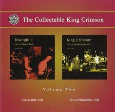 KING CRIMSON The Collectable King Crimson Volume 2 2CD 2007  #OneAsiaAllEntertainment #852Entertainment