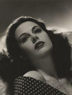 Hedy Lamarr... she is devastatingly beautiful