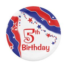 9 Inch Paper Plate | Patriotic | Pinterest | Custom plates  sc 1 st  Pinterest & Paper plates! Patriotic American! 9 Inch Paper Plate | Patriotic ...