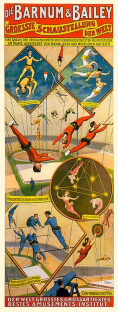 This is from the Barnum & Bailey tour of Europe from 1898 to 1902.