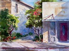 TINA BOHLMAN @@@@......http://www.pinterest.com/venussanat/watercolor-painting/
