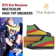 Everyday is a KPOP day... check this out: BTS Multicolor Sn... It's selling fast! http://thekdom.com/products/bts-multicolor-woman-sneakers?utm_campaign=social_autopilot&utm_source=pin&utm_medium=pin