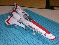 Star Wars mark2 fighters hyperfine version 3D paper model DIY Toy #PHOTIPONG