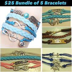 Bracelet Bundle All brand new. Jewelry Bracelets