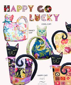 Nel Whatmore Patchwork Cat Patterns Free PDF Download