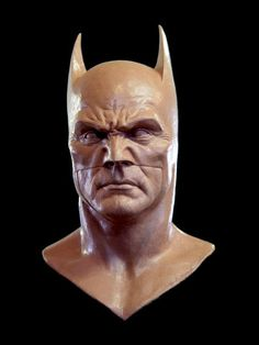 batman face clay mask sculpture - Google Search