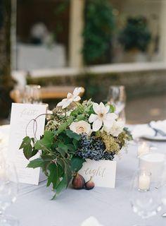 Elegant Garden Wedding Reception