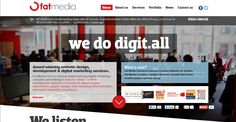 Some serious HTML5 going on here - fatmedia.co.uk