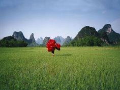 Scarlett Hooft Graafland, Red Masmo, from series The Day after Valentine, 2006, China.