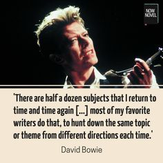 What is a theme? Read theme examples from famous novels by Dostoyevsky, Tolkien, and others and how to develop themes in your own novel. David Bowie Quotes, Reading Themes, Famous Novels, A Writer's Life, Writing Quotes, Inspiring People, Quotations, Literature, Learning
