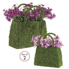 Set of 2 English Garden Tote Planters - Pest Control, Household Gadgets, Outdoor Solutions, Home and Garden Problem Solutions | Whatever Wor...