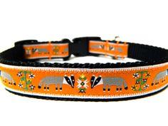 "Honey Badger Dog Collar 3/4"" Fun Dog Collar"