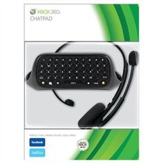 Microsoft Xbox 360 Chat Pad Keyboard & Voice Chat Headset Kit for $13.99
