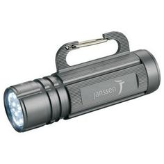 High Sierra Carabiner Hook Flashlight Old school with a twist, branded gifts that are useful and well received.