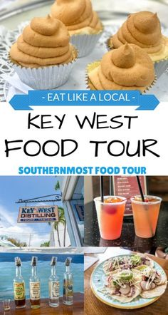 Food favorites in Key West! What to Eat and Where to Eat! After all, best way to explore a place is through its food. - Food Tour, Food Tour Key West, Key West Travel Tips Visit Florida, Florida Vacation, Florida Travel, Hawaii Travel, Florida Trips, Tropical Vacations, Cruise Vacation, Florida Beaches, Thailand Travel