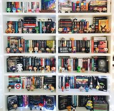 The book shelf of every person who loves science fiction!!!