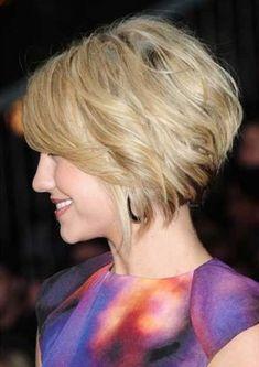 Znalezione obrazy dla zapytania fryzury krótkie włosy
