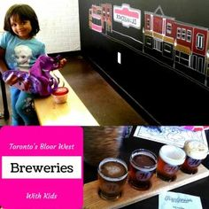 Craft beer in downtown Toronto at the breweries in Bloor West