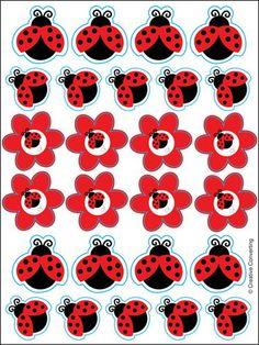 Check out the deal on Ladybug Sticker Sheets at Discount Party Supplies - My Paper Shop
