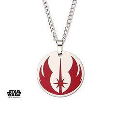 Star Wars Jedi Order Stainless Steel Pendant Necklace Costume Accessory