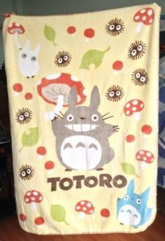 My Neighbor Totoro Blanket